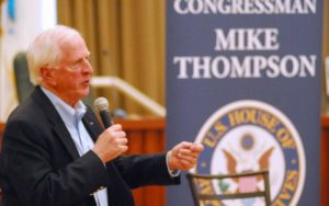 Coffee with the Congressman - Mike Thompson - Middletown @ Grinder's Steep  | Middletown | California | United States